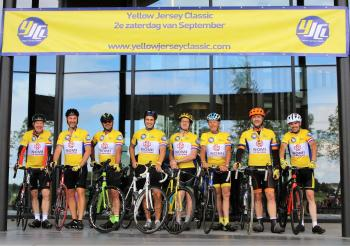 Participation in sport in the form of the Yellow Jersey Classic